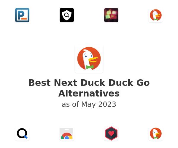 Best Next Duck Duck Go Alternatives
