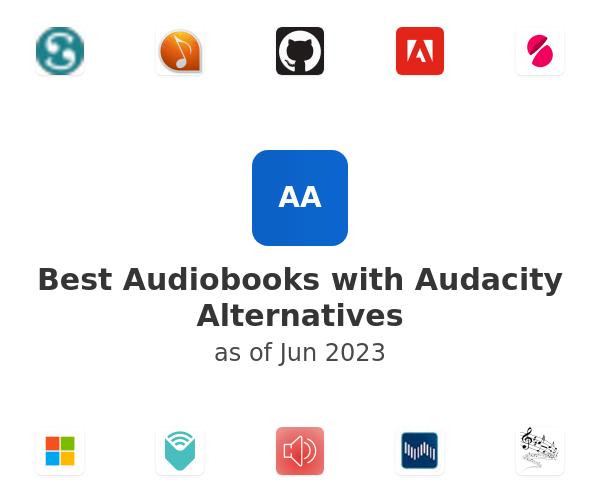 Best Audiobooks with Audacity Alternatives