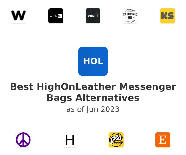 Best HighOnLeather Messenger Bags Alternatives