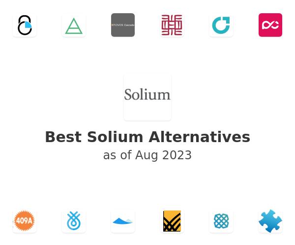 Best Solium Alternatives