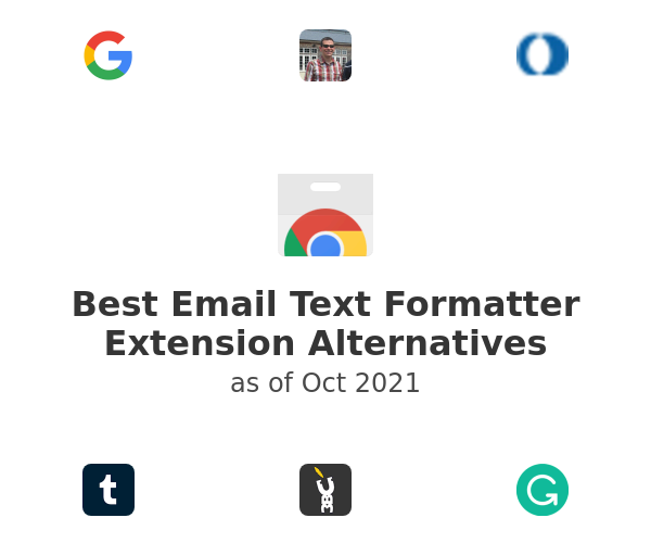 Best Email Text Formatter Alternatives