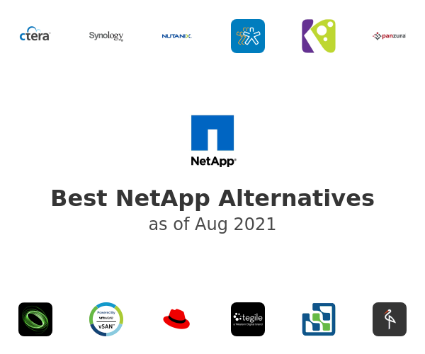 Best NetApp Alternatives
