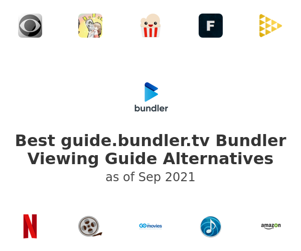 Best Bundler Viewing Guide Alternatives