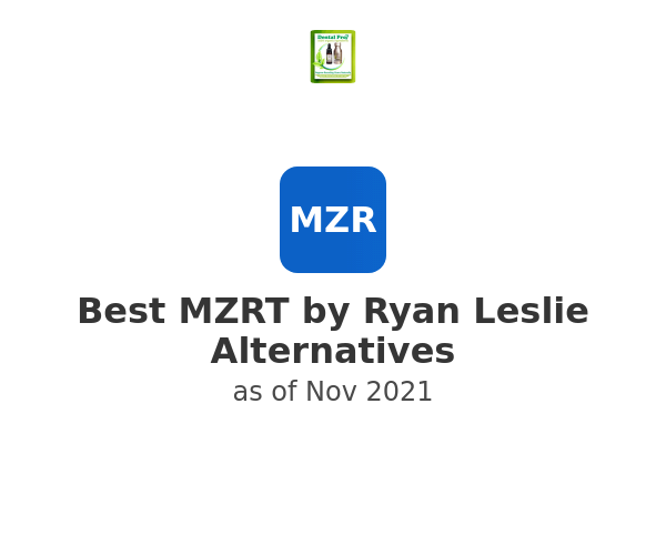 Best MZRT by Ryan Leslie Alternatives