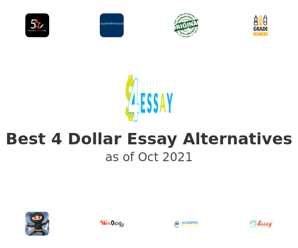 Best 4 Dollar Essay Alternatives