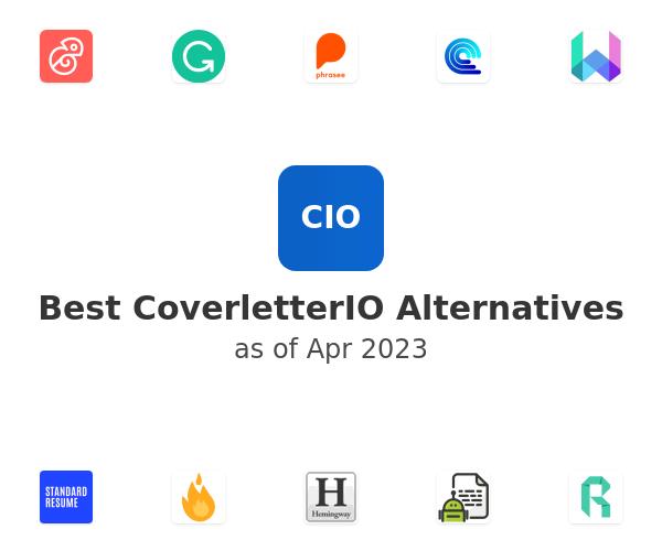 Best CoverletterIO Alternatives