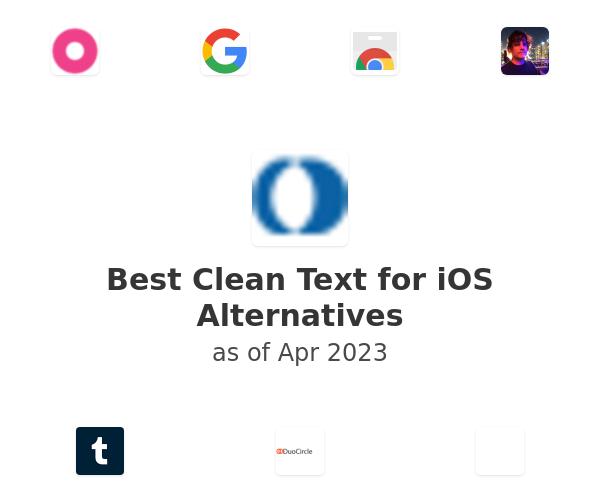 Best Clean Text for iOS Alternatives