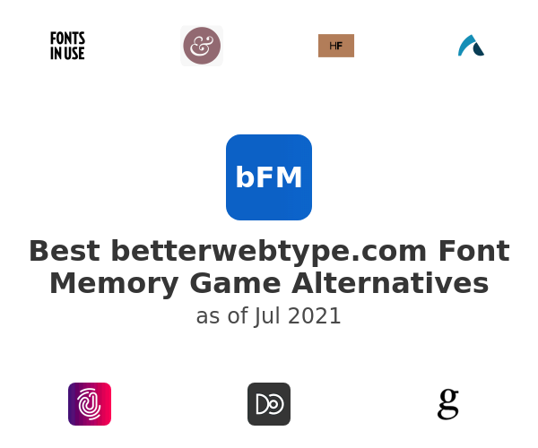 Best Font Memory Game Alternatives