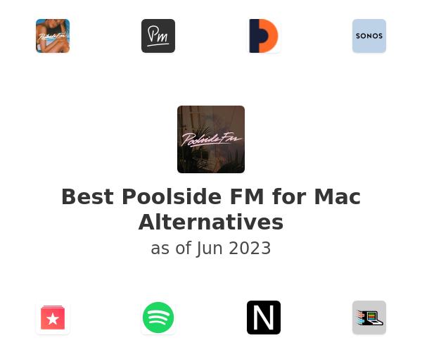 Best Poolside FM for Mac Alternatives