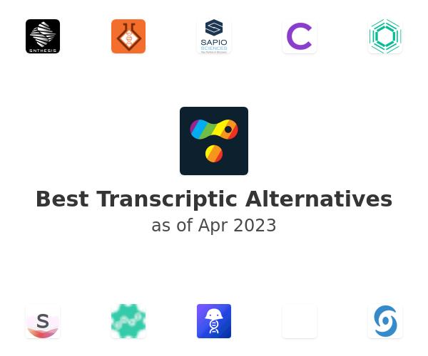 Best Transcriptic Alternatives
