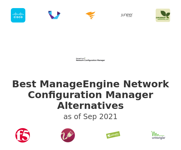 Best ManageEngine Network Configuration Manager Alternatives