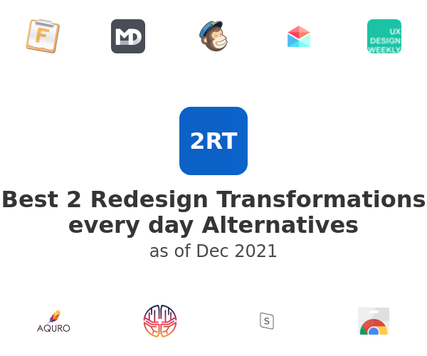 Best 2 Redesign Transformations every day Alternatives