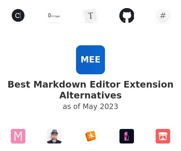 Best Markdown Editor Alternatives
