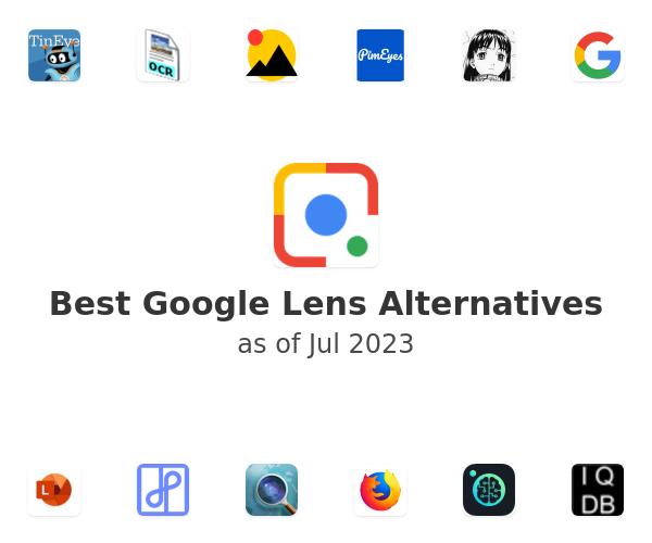 Best Google Lens Alternatives