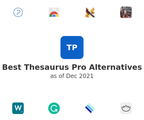 Best Thesaurus Pro Alternatives