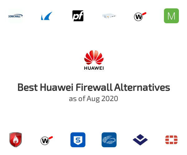 Best Huawei Firewall Alternatives