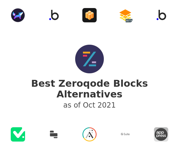 Best Zeroqode Blocks Alternatives