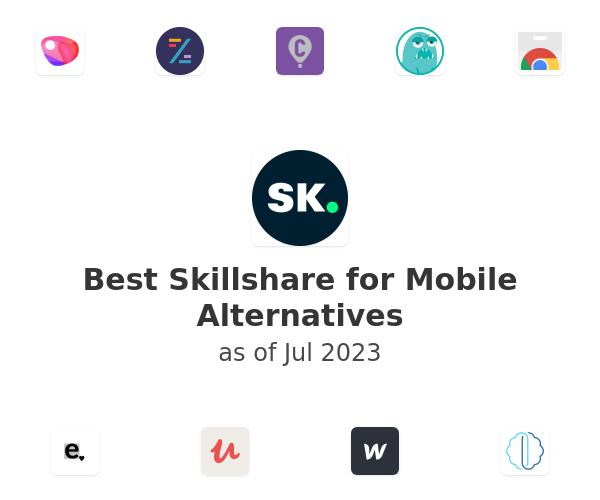 Best Skillshare for Mobile Alternatives