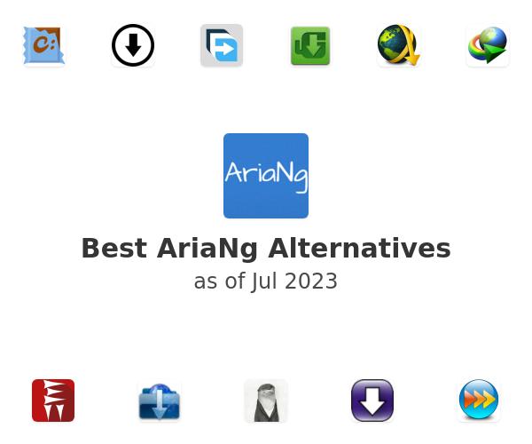Best AriaNg Alternatives