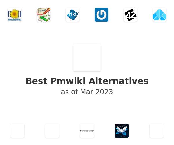 Best Pmwiki Alternatives