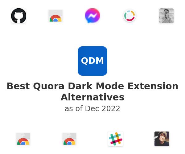 Best Quora Dark Mode Alternatives