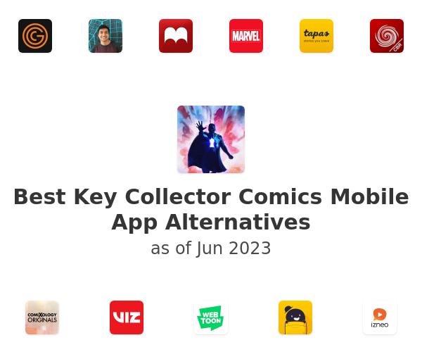 Best Key Collector Comics Mobile App Alternatives
