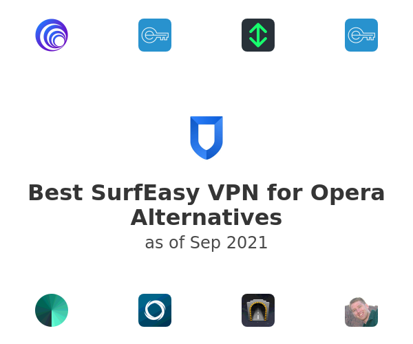 Best SurfEasy VPN for Opera Alternatives