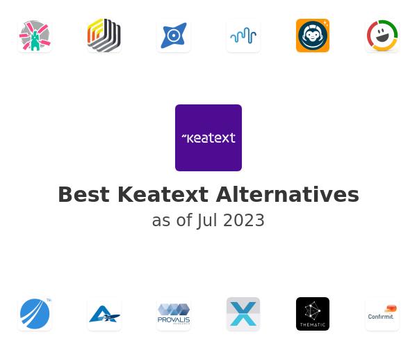 Best Keatext Alternatives