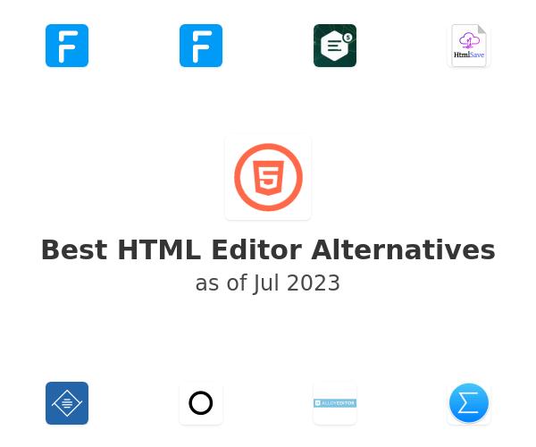 Best HTML Editor Alternatives
