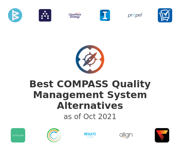 Best COMPASS Quality Management System Alternatives