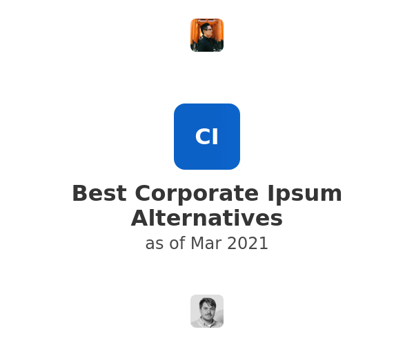 Best Corporate Ipsum Alternatives