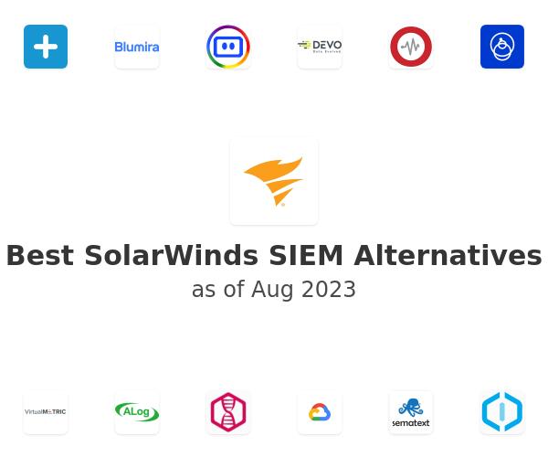 Best SolarWinds SIEM Alternatives