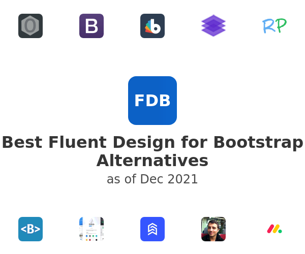 Best Fluent Design for Bootstrap Alternatives