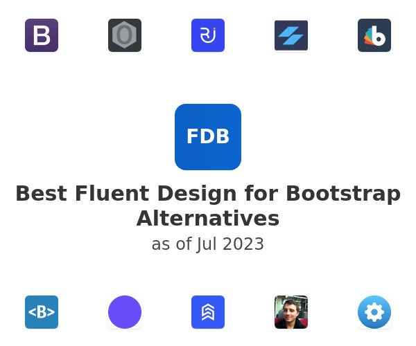 Best Fluent Design for Bootstrap Alternatives