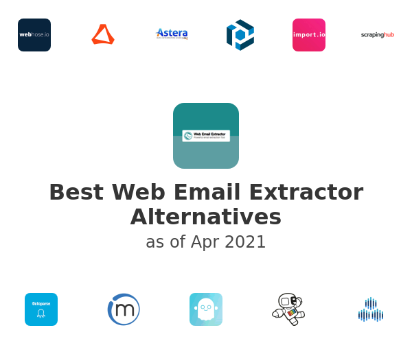 Best Web Email Extractor Alternatives
