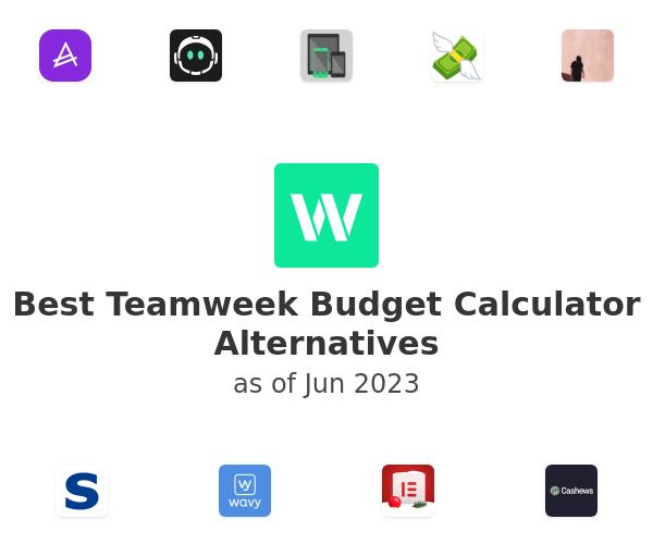 Best Teamweek Budget Calculator Alternatives
