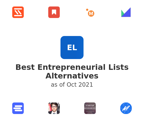 Best Entrepreneurial Lists Alternatives