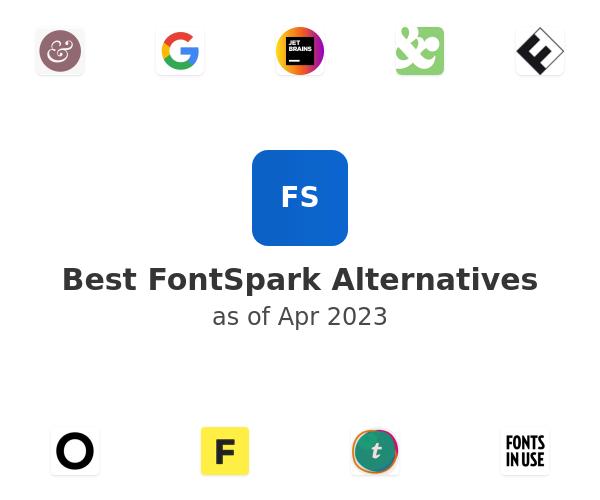 Best FontSpark Alternatives
