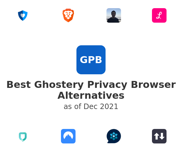 Best Ghostery Privacy Browser Alternatives