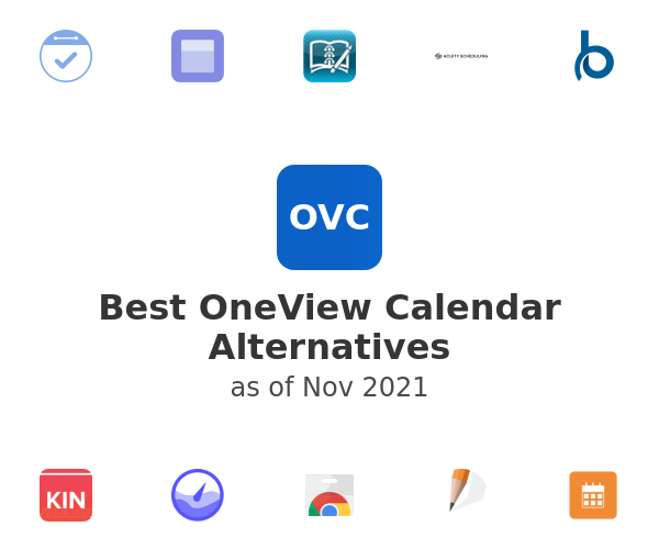 Best OneView Calendar Alternatives