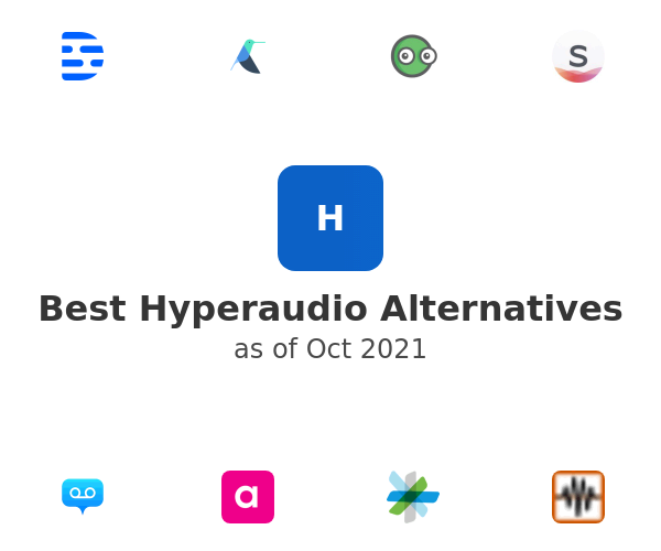 Best Hyperaudio Alternatives