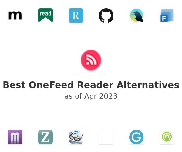 Best OneFeed Reader Alternatives