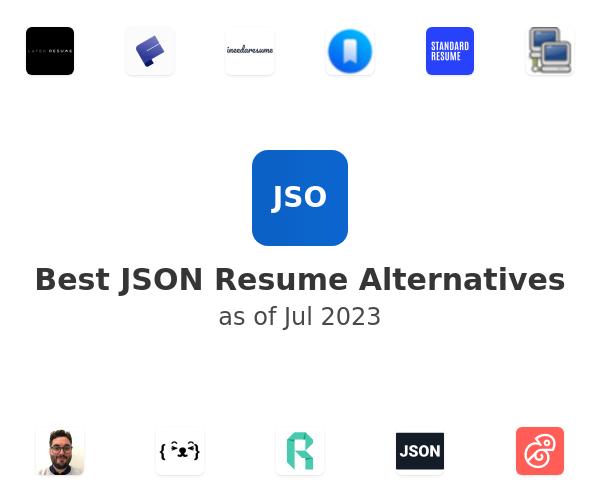 Best JSON Resume Alternatives