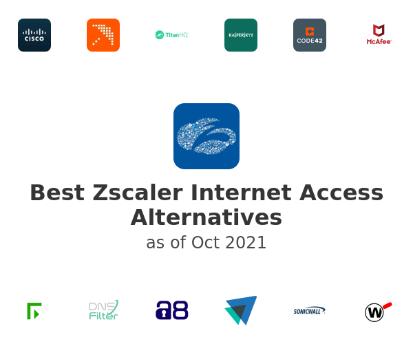 Best Zscaler Internet Access Alternatives