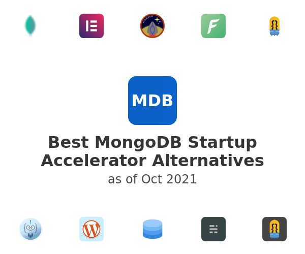 Best MongoDB Startup Accelerator Alternatives
