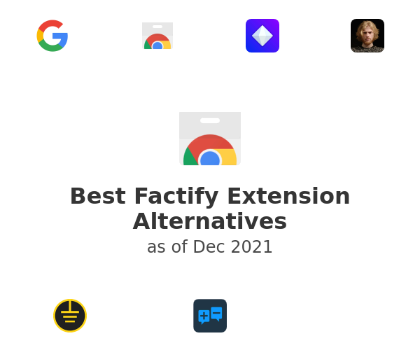 Best Factify Extension Alternatives