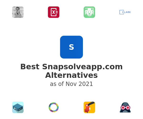 Best Snapsolve Alternatives
