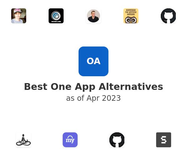 Best One App Alternatives