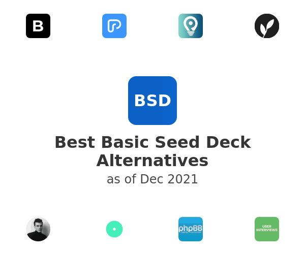Best Basic Seed Deck Alternatives