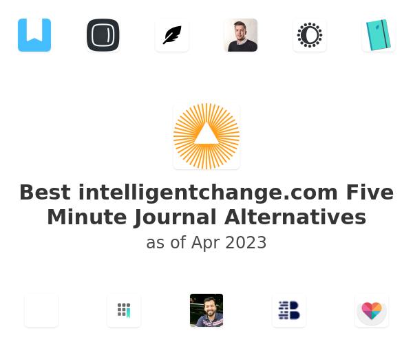 Best Five Minute Journal Alternatives